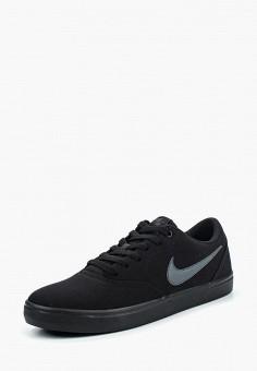 Кеды, Nike, цвет: черный. Артикул: NI464AMPKE35. Обувь / Кроссовки и кеды / Кеды