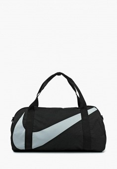 312426ff3467 Сумка спортивная, Nike, цвет: черный. Артикул: NI464BKABAQ1. Мальчикам /  Спорт