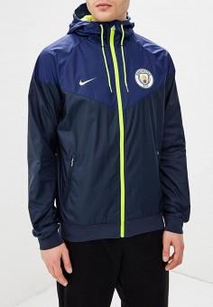 Ветровка Manchester City FC Windrunner Men's Woven Hooded Jacket