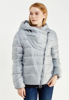Пуховик, Nike, цвет: серый. Артикул: NI464EWUGT76. Одежда / Верхняя одежда / Пуховики и зимние куртки