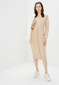 Платье, Numinou, цвет: бежевый. Артикул: NU007EWCBQG7. Одежда