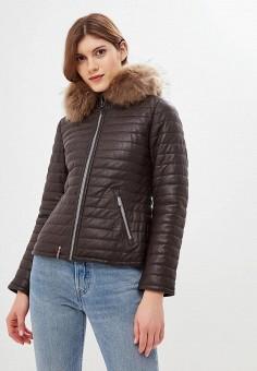 Куртка утепленная, Oakwood, цвет: коричневый. Артикул: OA002EWJJJ89.