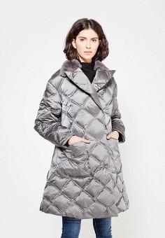 Пуховик, Odri, цвет: серый. Артикул: OD001EWXGF50. Одежда / Верхняя одежда