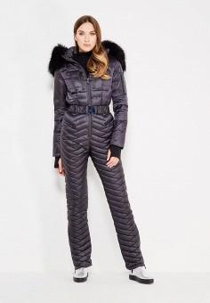 Комбинезон утепленный, Odri, цвет: черный. Артикул: OD001EWXGF85. Одежда / Верхняя одежда