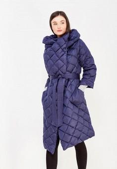 Пуховик, Odri, цвет: синий. Артикул: OD001EWYGM55. Одежда / Верхняя одежда