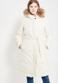 Пуховик, Odri, цвет: белый. Артикул: OD001EWYGM74. Одежда / Верхняя одежда