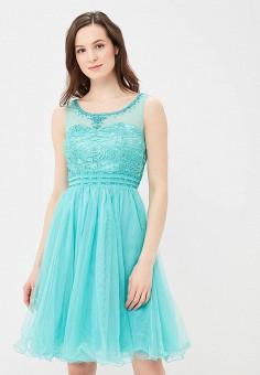 Платье, Omonsim, цвет: бирюзовый. Артикул: OM001EWAVCX5. Одежда
