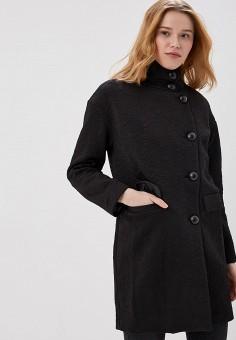Пальто, On Parle de Vous, цвет: черный. Артикул: ON017EWAPMM9. Одежда / Верхняя одежда / Пальто