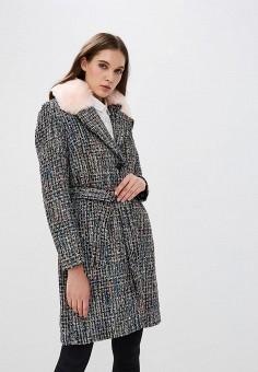 Пальто, On Parle de Vous, цвет: серый. Артикул: ON017EWAPMN1. Одежда / Верхняя одежда / Пальто