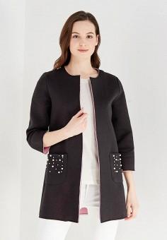 Пальто, Only, цвет: черный. Артикул: ON380EWAFTT4. Одежда / Верхняя одежда / Пальто