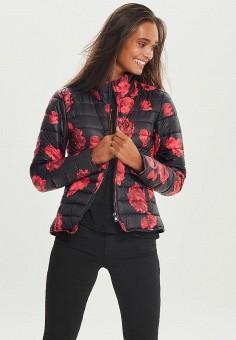 Куртка утепленная, Only, цвет: черный. Артикул: ON380EWCBAG5. Одежда / Верхняя одежда / Демисезонные куртки