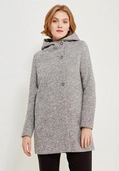 Пальто, Only, цвет: серый. Артикул: ON380EWZKU53. Одежда / Верхняя одежда / Пальто