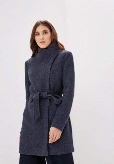 Пальто, Only, цвет: синий. Артикул: ON380EWZKU55. Одежда / Верхняя одежда / Пальто