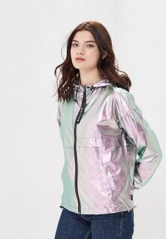 Ветровка, Only, цвет: серебряный. Артикул: ON380EWZKV71. Одежда / Верхняя одежда / Легкие куртки и ветровки