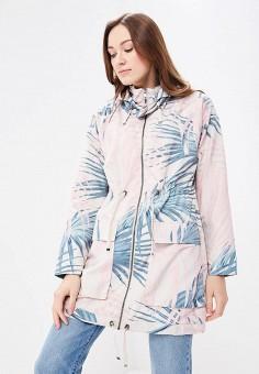 Парка, Only, цвет: бежевый. Артикул: ON380EWZKV73. Одежда / Верхняя одежда / Легкие куртки и ветровки