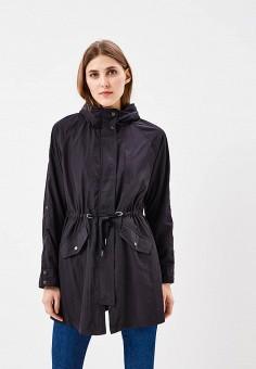 Парка, Only, цвет: черный. Артикул: ON380EWZKV74. Одежда / Верхняя одежда / Парки