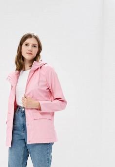 Плащ, Only, цвет: розовый. Артикул: ON380EWZKV95. Одежда / Верхняя одежда