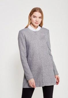 Пальто, Only, цвет: серый. Артикул: ON380EWZKV97. Одежда / Верхняя одежда / Пальто