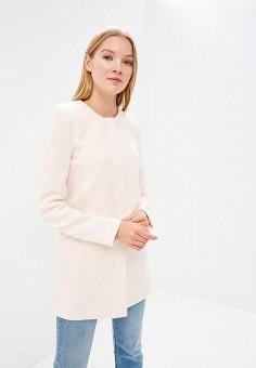 Пальто, Only, цвет: розовый. Артикул: ON380EWZKV98. Одежда / Верхняя одежда / Пальто
