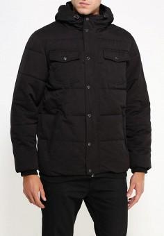 Куртка утепленная, oodji, цвет: черный. Артикул: OO001EMLXC52. Одежда / Верхняя одежда / Пуховики и зимние куртки
