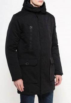 Куртка утепленная, oodji, цвет: черный. Артикул: OO001EMMGO82. Одежда / Верхняя одежда / Парки