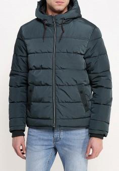 Куртка утепленная, oodji, цвет: зеленый. Артикул: OO001EMNXJ40. Одежда / Верхняя одежда / Пуховики и зимние куртки
