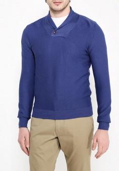 Свитер, oodji, цвет: синий. Артикул: OO001EMQIM34. Одежда / Джемперы, свитеры и кардиганы