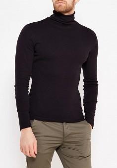 Водолазка, oodji, цвет: черный. Артикул: OO001EMWZU72. Одежда / Джемперы, свитеры и кардиганы