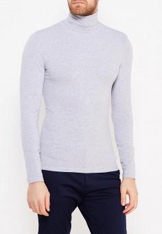 Водолазка, oodji, цвет: серый. Артикул: OO001EMWZU74. Одежда / Джемперы, свитеры и кардиганы