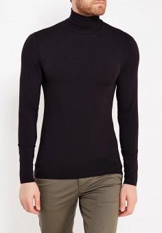 Водолазка, oodji, цвет: черный. Артикул: OO001EMWZU75. Одежда / Джемперы, свитеры и кардиганы