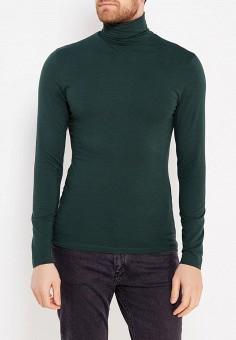 Водолазка, oodji, цвет: зеленый. Артикул: OO001EMWZU77. Одежда / Джемперы, свитеры и кардиганы