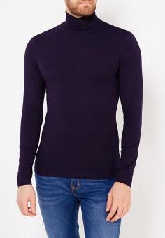 Водолазка, oodji, цвет: синий. Артикул: OO001EMWZU78. Одежда / Джемперы, свитеры и кардиганы