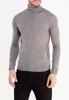 Водолазка, oodji, цвет: серый. Артикул: OO001EMXVA30. Одежда / Джемперы, свитеры и кардиганы