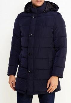 Куртка утепленная, oodji, цвет: синий. Артикул: OO001EMYLG35. Одежда / Верхняя одежда / Пуховики и зимние куртки