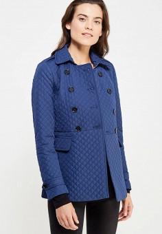 Куртка, oodji, цвет: синий. Артикул: OO001EWKSC24. Одежда / Верхняя одежда / Демисезонные куртки