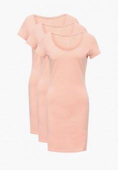 Комплект, oodji, цвет: розовый. Артикул: OO001EWVPR00. Одежда