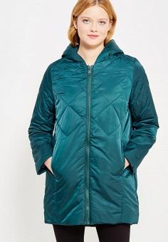 Куртка утепленная, oodji, цвет: зеленый. Артикул: OO001EWXOW78. Одежда / Верхняя одежда / Демисезонные куртки