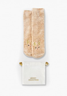 Носки O'stin LN6VBE, цвет бежевый, размер