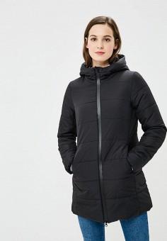 Куртка утепленная, OVS, цвет: черный. Артикул: OV001EWBRUU8. Одежда / Верхняя одежда / Демисезонные куртки