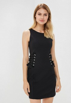Платье, OVS, цвет: черный. Артикул: OV001EWBRWN4. Одежда