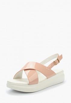 Сандалии, Patrol, цвет: розовый. Артикул: PA050AWALER5. Обувь / Сандалии