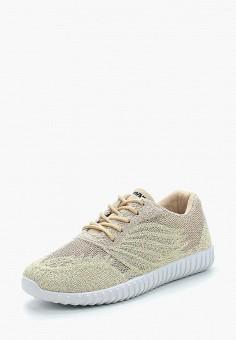 Кроссовки, Patrol, цвет: золотой. Артикул: PA050AWALFH3. Обувь / Кроссовки и кеды / Кроссовки