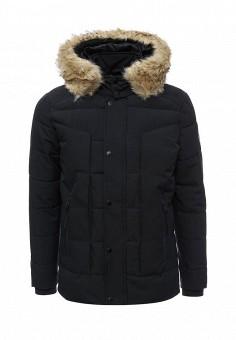 Куртка утепленная, Paragoose, цвет: синий. Артикул: PA068EMKQA83. Мужская одежда / Верхняя одежда / Пуховики и зимние куртки