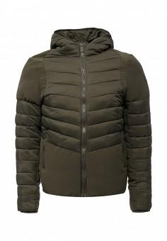 Куртка утепленная, Paragoose, цвет: хаки. Артикул: PA068EMXND64. Мужская одежда / Верхняя одежда / Пуховики и зимние куртки