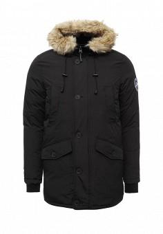 Куртка утепленная, Paragoose, цвет: черный. Артикул: PA068EMXND73. Мужская одежда / Верхняя одежда / Пуховики и зимние куртки