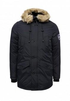 Куртка утепленная, Paragoose, цвет: синий. Артикул: PA068EMXND74. Мужская одежда / Верхняя одежда / Пуховики и зимние куртки