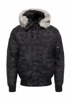 Куртка утепленная, Paragoose, цвет: черный. Артикул: PA068EMXNG26. Мужская одежда / Верхняя одежда / Пуховики и зимние куртки