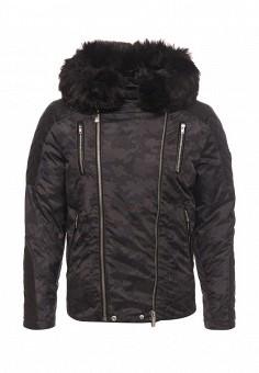 Куртка утепленная, Paragoose, цвет: черный. Артикул: PA068EMZRD31. Мужская одежда / Верхняя одежда / Пуховики и зимние куртки