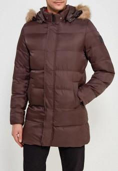 Куртка утепленная, PaperMint, цвет: коричневый. Артикул: PA074EMAAMI7. Одежда / Верхняя одежда / Пуховики и зимние куртки