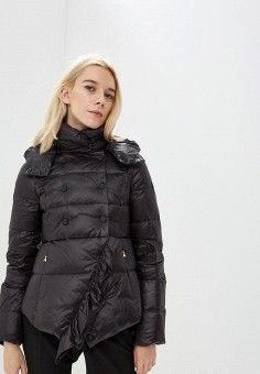 Пуховик, Patrizia Pepe, цвет: черный. Артикул: PA748EWCEHF2. Premium / Одежда / Верхняя одежда / Зимние куртки